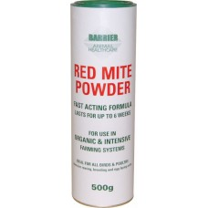 Barrier 500g Organic Red Mite Powder for all birds & poultry