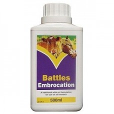 Battles Embrocation Oil - 500ml