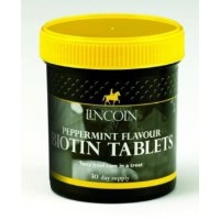 Lincoln BIOTIN 60 Tablets peppermint flavour