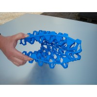 Blue Plastic Keyes Egg Trays - Holds 30 Eggs