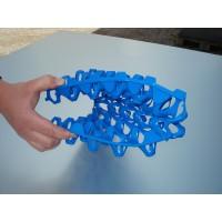 Blue Plastic Keyes Egg Trays - Holds 30 Eggs