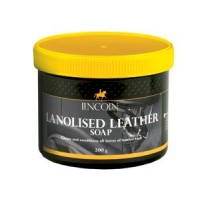 Lincoln Lanolised Leather Saddle Soap 200g